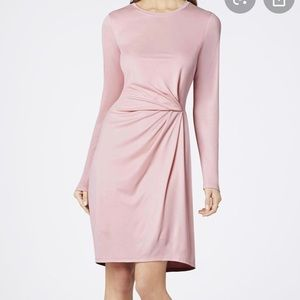 BCBG MaxAzria Roxie Front Pleat Dress